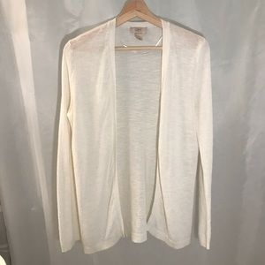 LOFT Ribbed Open Cardigan- never worn